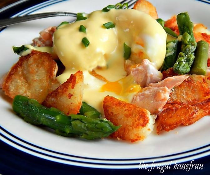 Salmon & Aspargus Hash