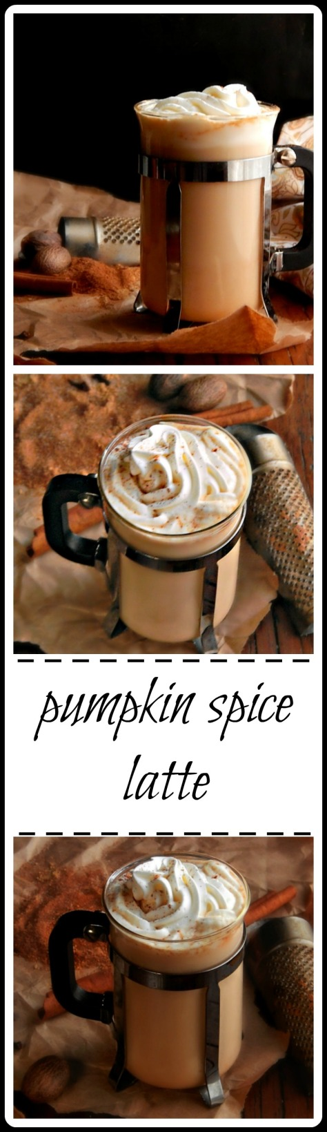 Pumpkin Spice Latte - simple, frugal & minutes to make!