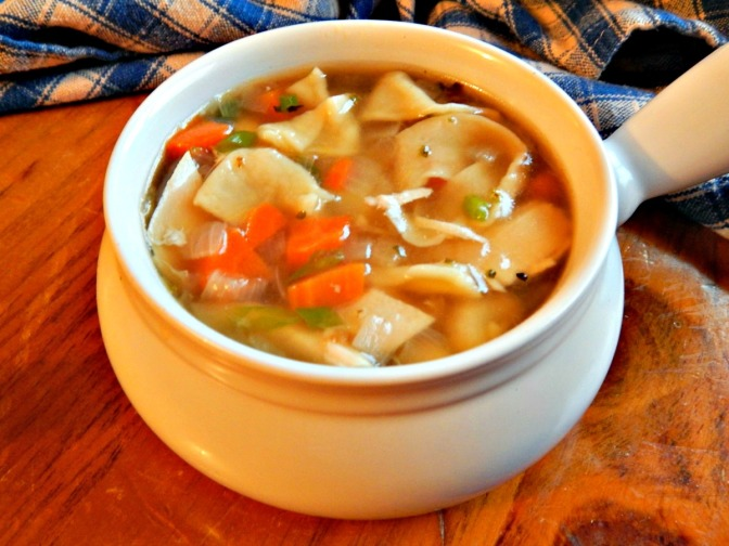 Classic Chicken Noodle Soup -newer