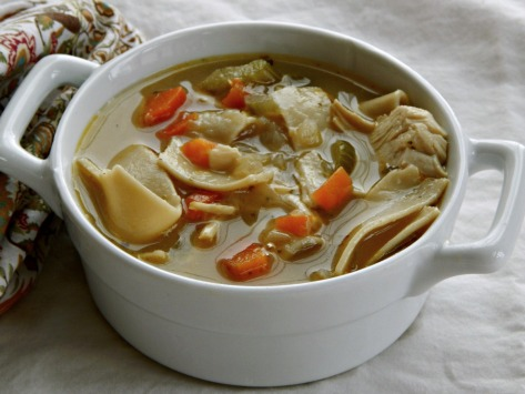 Turkey (or Chicken) Noodle Soup