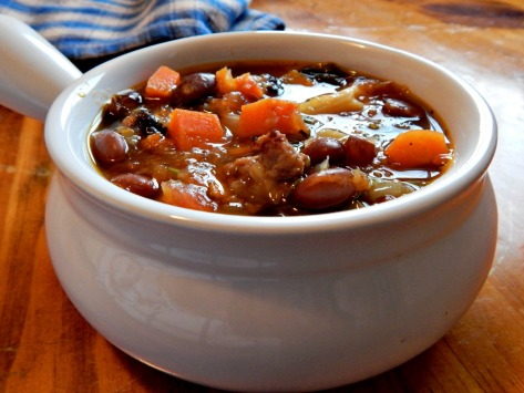 Winter Minestrone, adapted from Tyler Florence