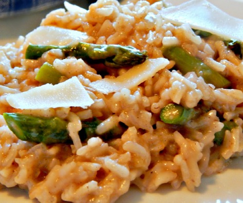 Asparagus Risotto - Cook's Illustrated Stove Top Method