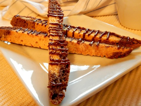 Black & White Biscotti