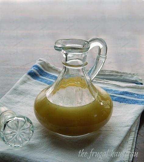 honey citrus orange vinaigrette salad dressing