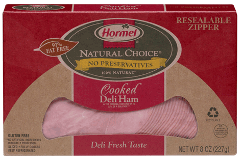 "Hormel lunch meat - on a price ""roll back"" Walmart, $5.00 a pound, $2.50 for 8 ounces"