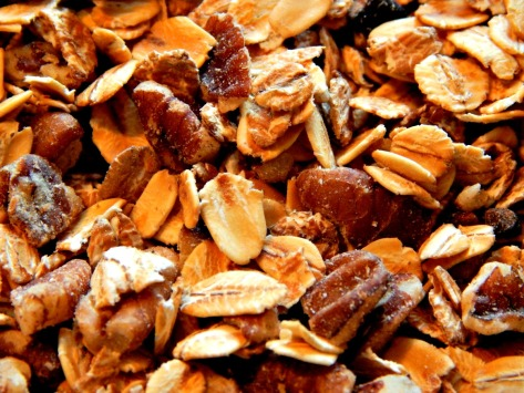 Frugal's Muesli - this is pecan date, but another favorite is slivered almond and pear.