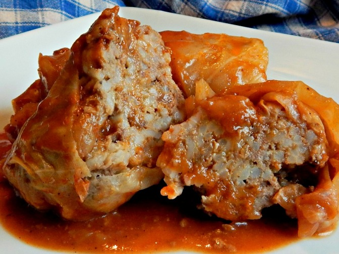 Stuffed Cabbage Rolls x
