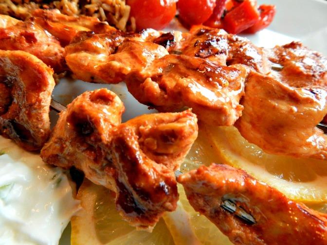 Yogurt Marinated Shish Kebabs