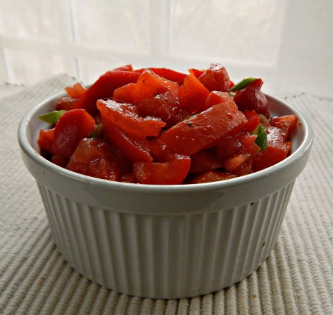 Bell Pepper & Tomato Salad