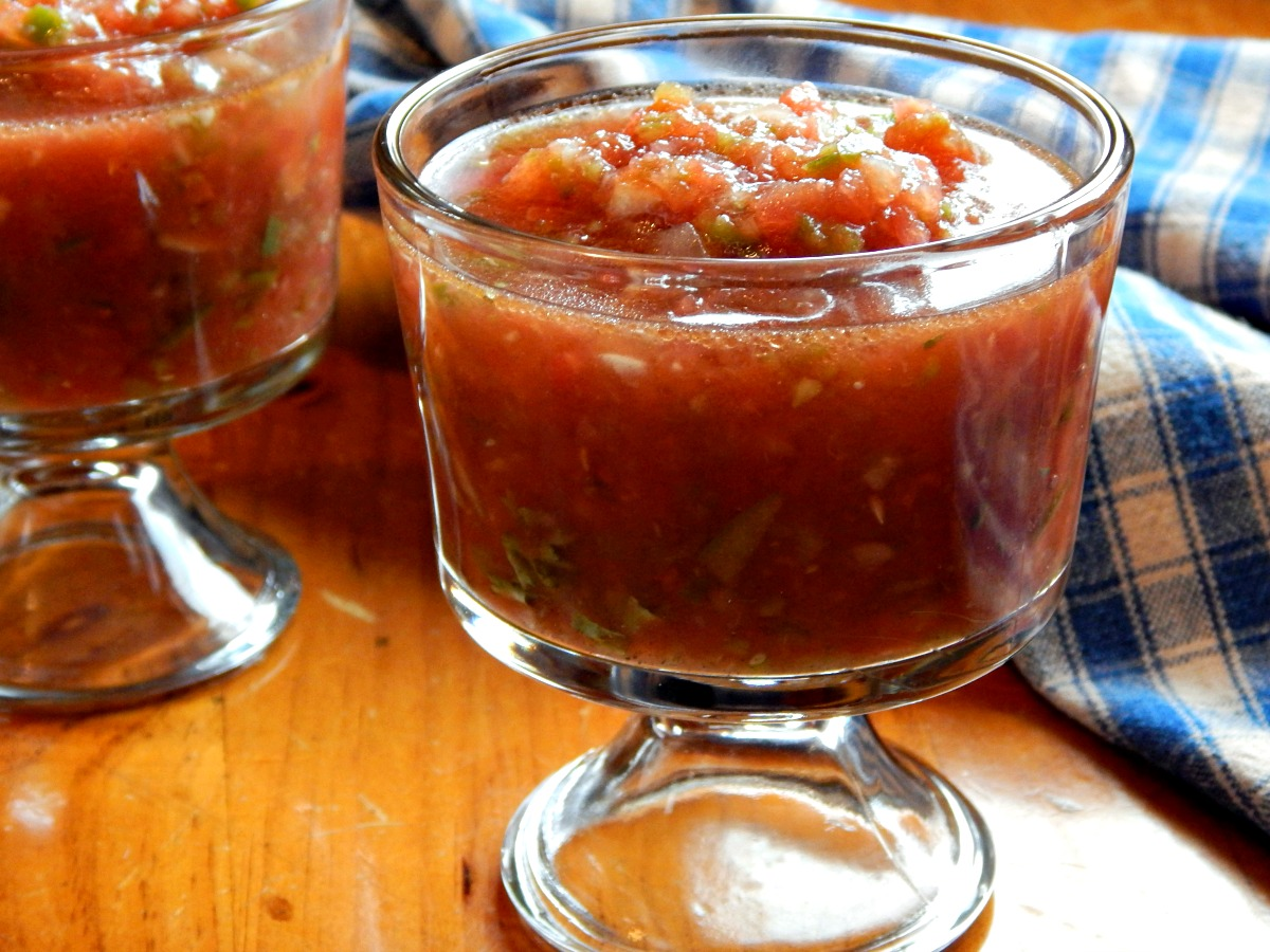 Gazpacho, Classic : so perfect for summer, this one's super ...