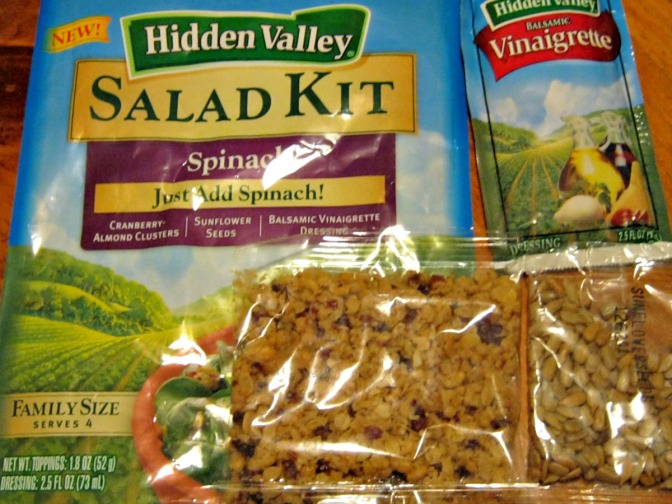 Hidden Valley Salad Kit & Contents