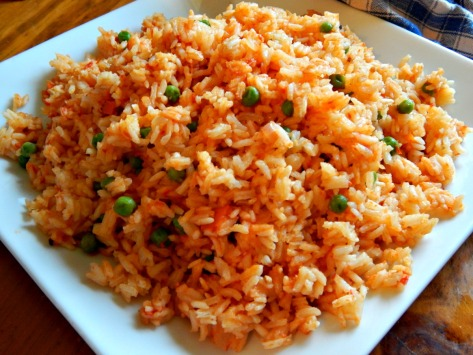 Mexican Rice, beautifully cooked and flavored