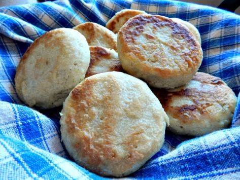 Arepas, still warm and fragrant