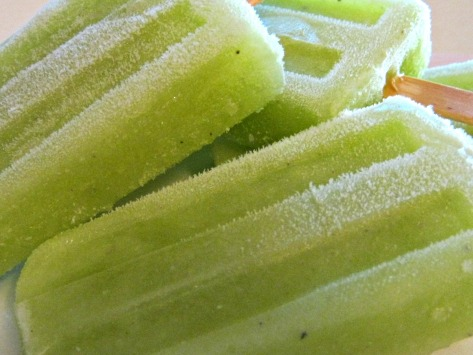 Cracked Black Pepper Honey Dew Sorbet