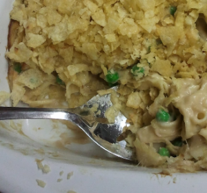 Tuna Noodle Casserole Supreme - gone bad!