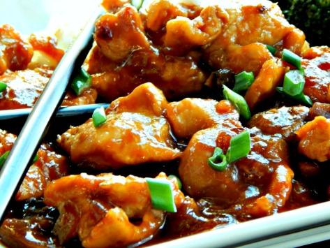 Bourbon Chicken - delicious Sweet & Smoky