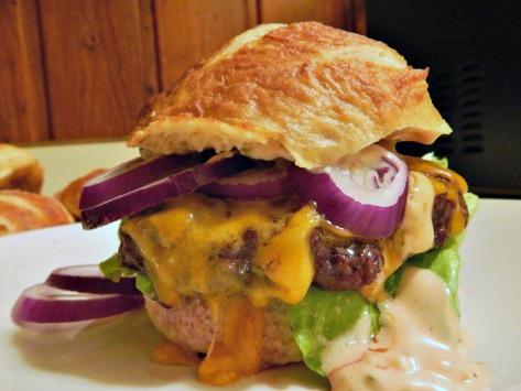 Da Bomb Oven Roasted Hamburgers