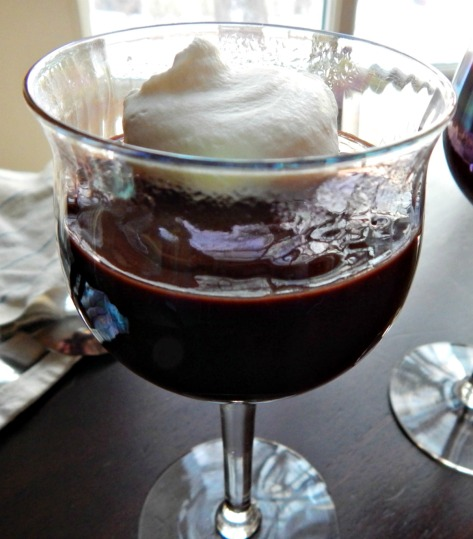 Chocolate Pots de Creme - in minutes!