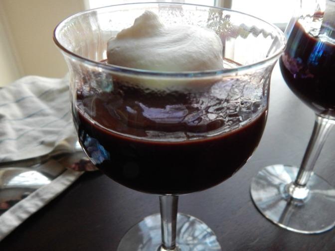Chocolate Pots de Creme – in minutes