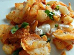 Hash Browns from Left Over Potatoes - so perfectly golden & crispy