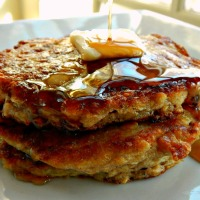 Scottish Oatcakes - Oatmeal Pancakes . $1.65