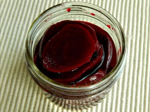 My Grandmother's One Jar Pickled Beets
