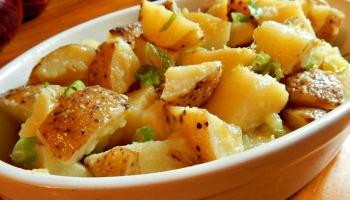 German potato salad frugal hausfrau yukon gold potato salad ccuart Choice Image