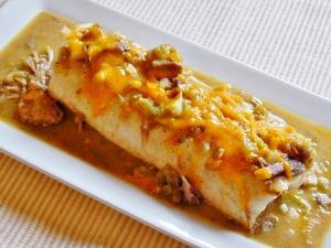 Burrito Smothered w Denver Green Chili