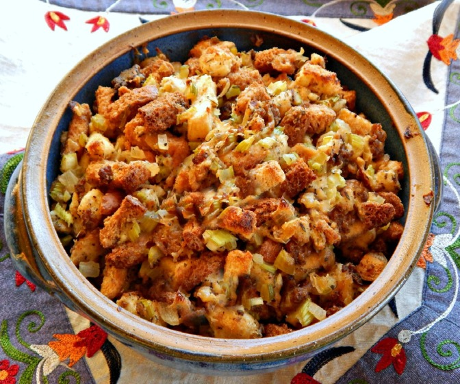 Classic Midwestern Stuffing or Dressing