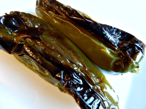 Jalapenos and other roasted peppers freeze beautifully - ready in an instant for salsa.