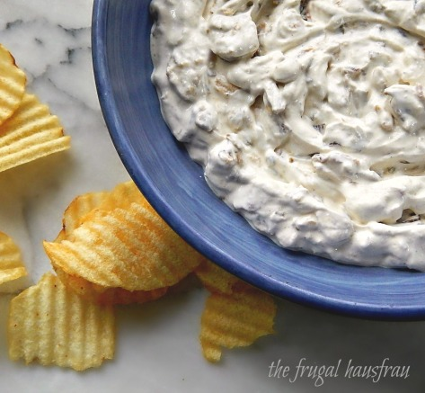 Caramelized French Onion Dip with Bacon Cook's Illustrated