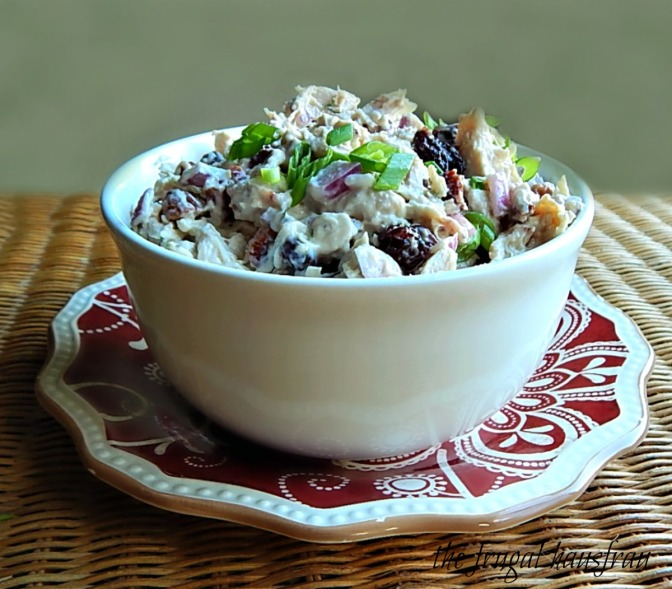 Chicken Salad with Dried Cherries & Toasted Nuts