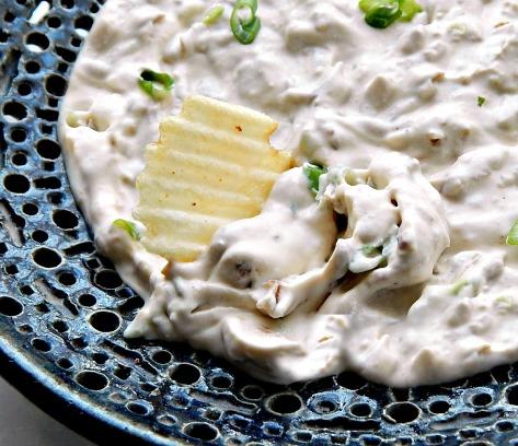 Skinny Caramelized Onion Dip
