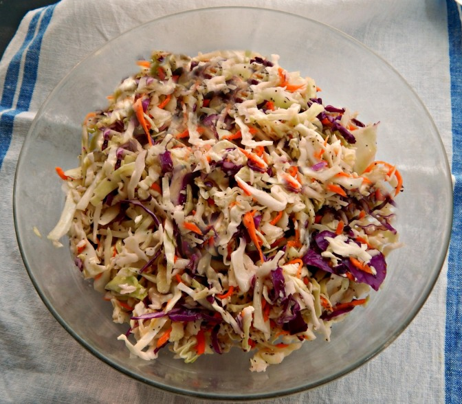 Vinegar Based Cole-Slaw, Red or Green