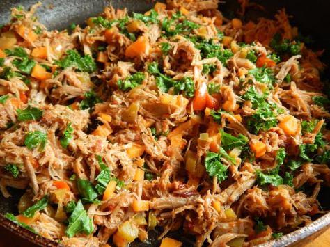 Chipotle Pulled Pork Empanadas Filling