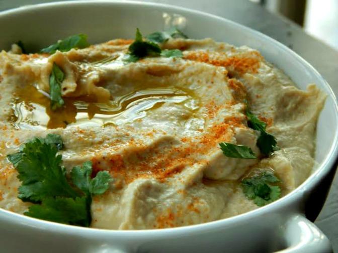 Make Your Own Hummus & Vegetarian Wraps