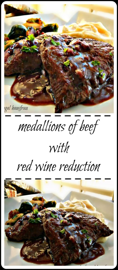 Make with Filet Mignon, or cheat with a cheaper cut - this is a classic blow your socks off entree!