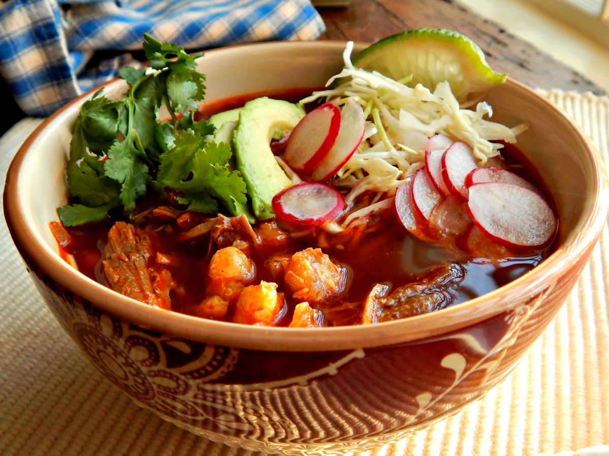 Posole, a beautiful meal