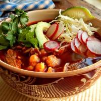 Pozole - Pork & Hominy Stew