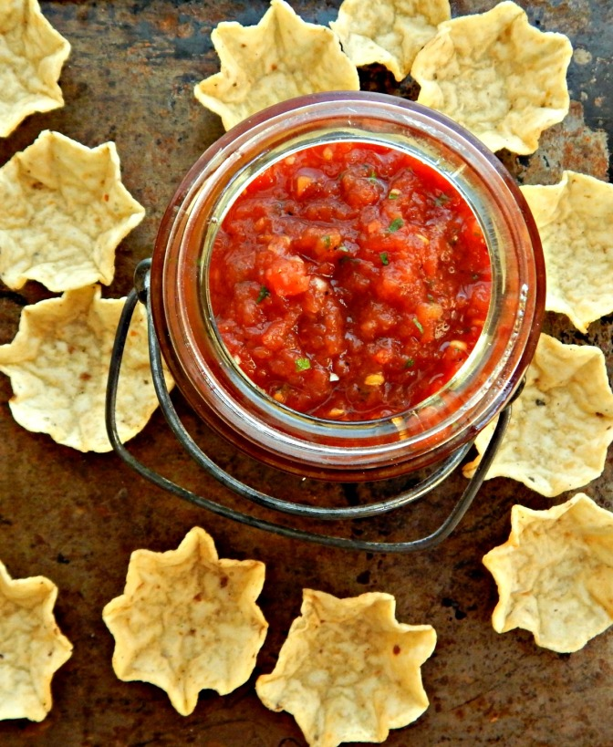 Salsa from Nothin' – Restaurant Style