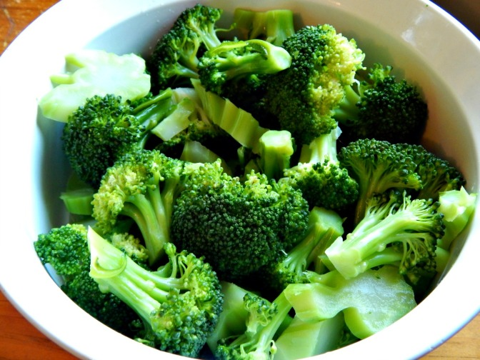 Simple, Steamed Broccoli