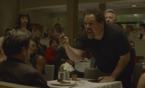 Chef: Jon Favreau has a meltdown, plunges his hand into the critics lava cake and screams about the ball of ganache and hot it isn't just an underbaked cake.