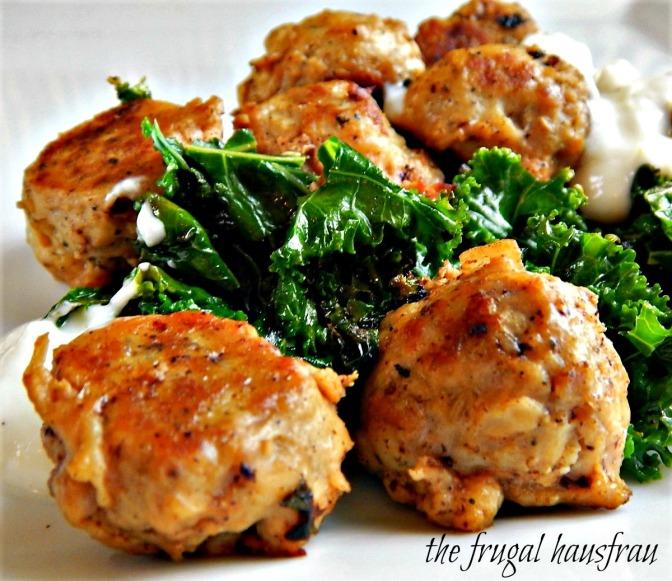 Chicken (or Turkey) Ricotta Meatballs