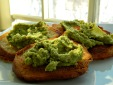 Stale bread is perfect for crostini