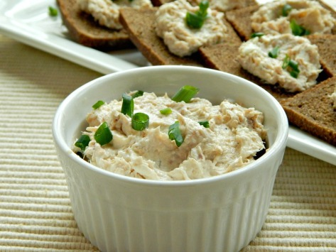 Smoky Salmon Spread, minutes to make.