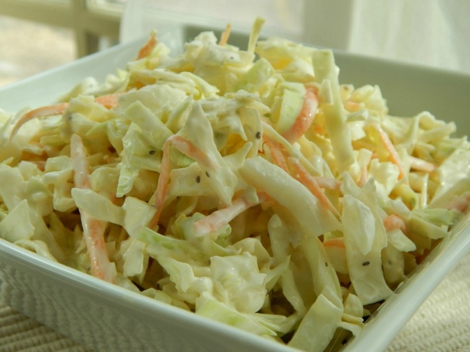 The Best Creamy Coleslaw