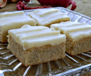 Banana Sheet Cake with Cream Cheese Frosting