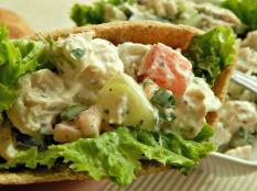 Greek Chicken Salad https://frugalhausfrau.com/2015/04/17/greek-chicken-salad-sandwiches/