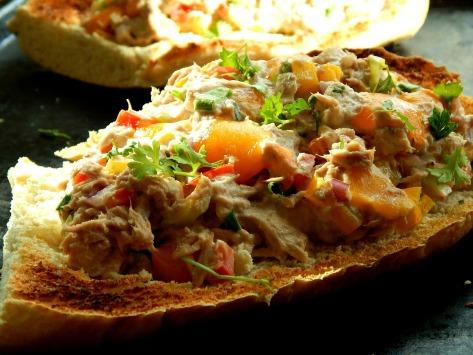 Healthier Tuna Melts