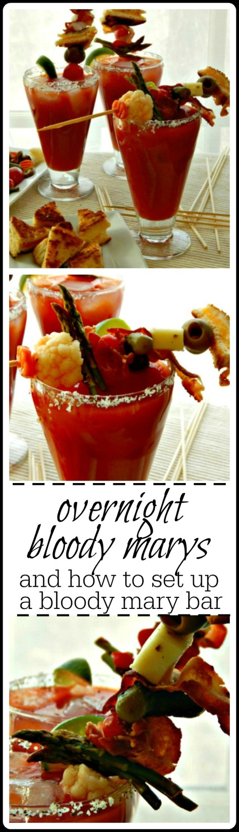 Great recipe and everything you need to set up a Bloody Mary party your guests will talk about for years!